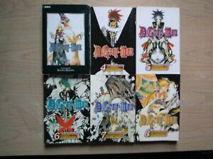 D-Gray-Man-1-8-Lot-of-8-Shonen-Manga-English-16-Katsura-Hoshino