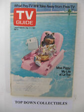 TV Guide  Lydia Cornell Of Too Close For Comfort  Aug. 1-7 1981