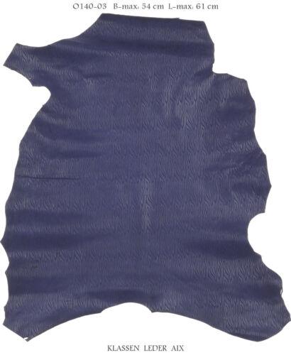 Lammleder Fantasy Design 1,0 mm Dick Echt Leder Velours Fell Leather O140