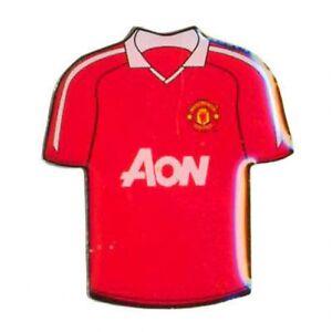 Licensed Manchester United F C Shirt Metal Badge Free Uk Delivery Ebay