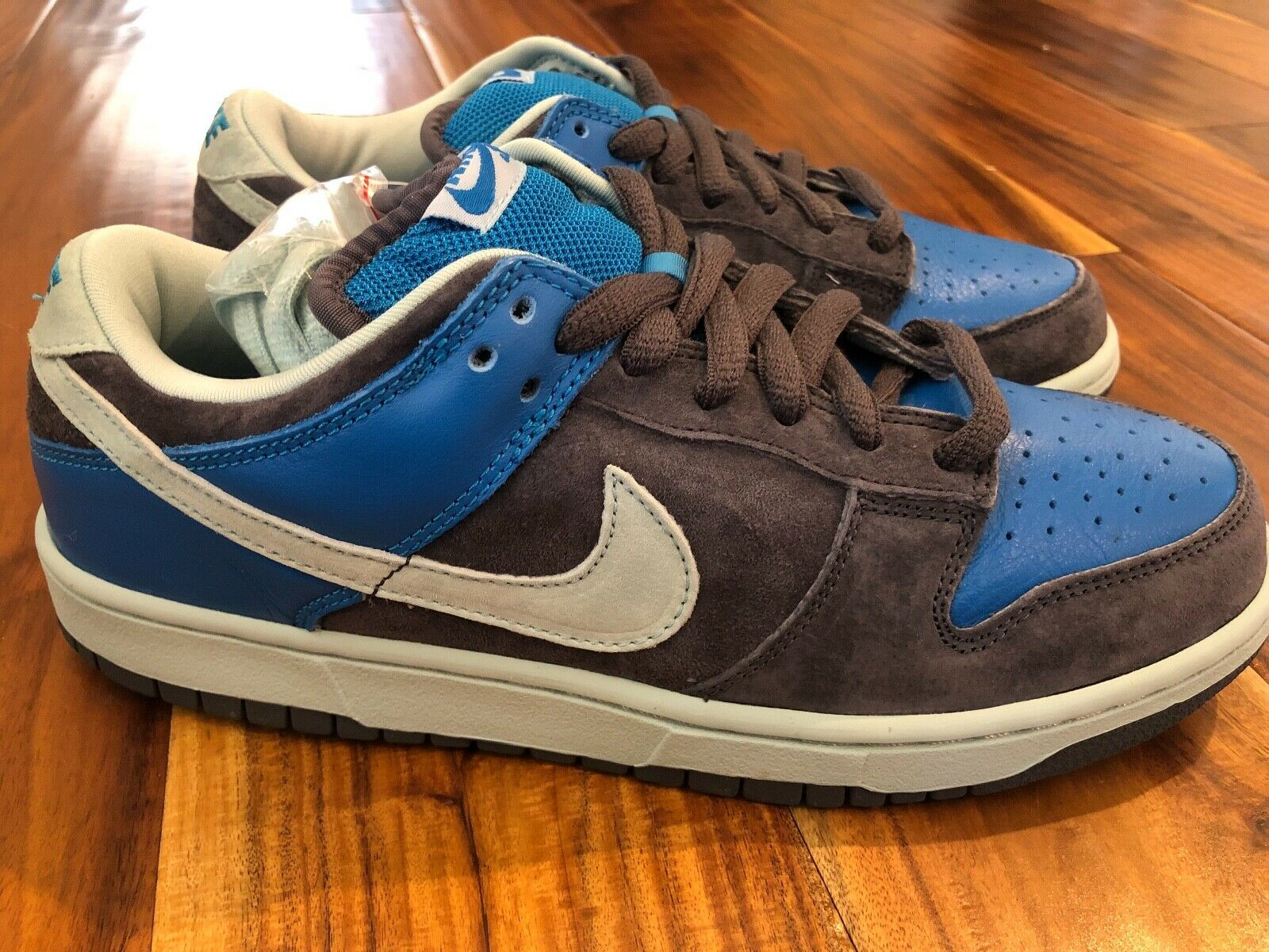 Nike Pro SB Dunk Low   Aqua Chalk   Size 7.5 -  2006 release - DS - Authentic