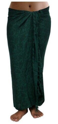 ca.100 Modelle im Shop Sarong Strandtuch Pareo Wickelrock Loop Stola grün Sar15