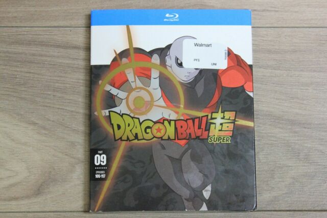Dragon Ball Super Part 09 Episodes 105-117 Blu-Ray 2-Disc Set