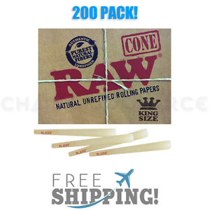 RAW-Classic-King-Size-Authentic-Pre-Rolled-Cones-with-Filter-200-Pack