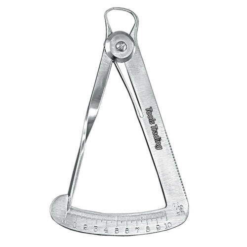 IWANSON Measuring Caliper 10th guage WAX caliper dental /& Craft tools Measuring