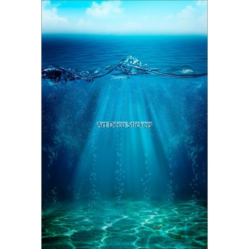 KÜHLSCHRANKMAGNET Deko unter Wasser 60x90cm Ref 6266 6266