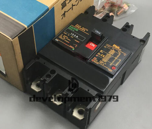 New Fuji Electric Industrial Automation Auto Circuit Breaker EA203B 3P 150A