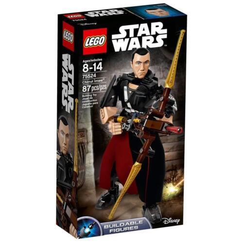 NIB New Factory Sealed LEGO STAR WARS Chirrut Imwe 75524 Buildable Figure