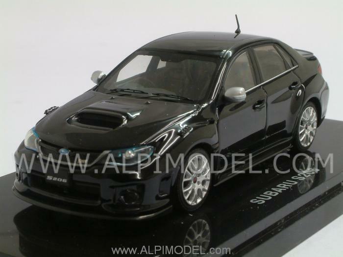 Subaru S206 2011 negro 1 43 EBBRO 44783