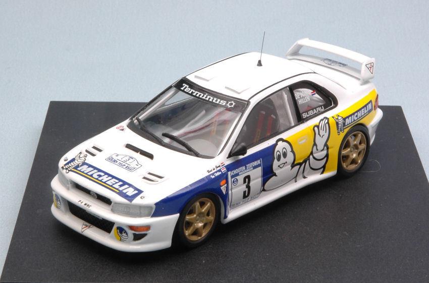 SUBARU Impreza WRC #3 2nd Tulip Rally 1998 B. De Jong/T. Hillen 1:43 Model