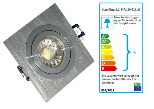 230v auvent downlights installation projecteur suffiraient ip20 gu10 COB LED émetteur 3w = 30w