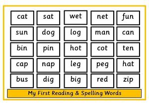 Printables Three Letters Words recognise amp read 3 letter words spellings reception ks1 image is loading reception