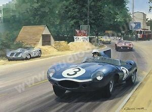 Litho-1957-Le-Mans-door-Graham-Turner