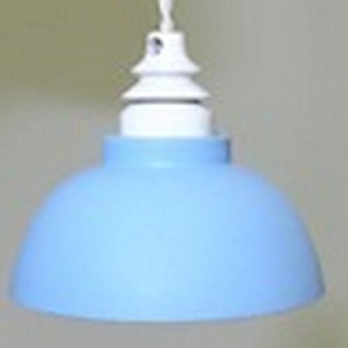 Lámpara de techo en Blue Casa de muñecas en miniatura Electric Lighting 1.12 Escala