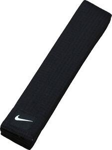 Nike Taekwondo Black Belt/Martial arts Black Belt/Made in Korea/Karatedo Belt