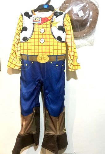BNWT Woody e Buzz Toy Story Costume Reversibile Marks and Spencer età 5-6 anni