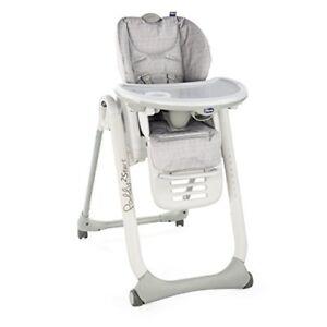 Polly-2-Start-Highchair-4-Wheels-happy-Silver