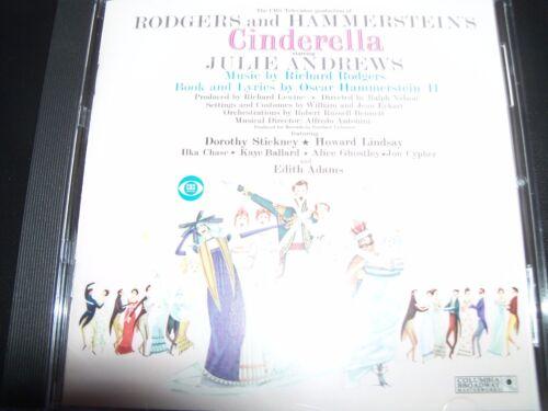 1 of 1 - Cinderella (Roger & Hammerstein's ) Soundtrack CD Ft Julie Andrews – Like New