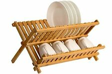 item 4 Wooden Dish Drying Rack Plate Cup Drainer Collapsible Kitchen Storage Holders -Wooden Dish Drying Rack Plate Cup Drainer Collapsible Kitchen Storage ...  sc 1 st  eBay & Compact Wooden Dishes Plates Drying Rack Drainer Holder Cup Mug ...