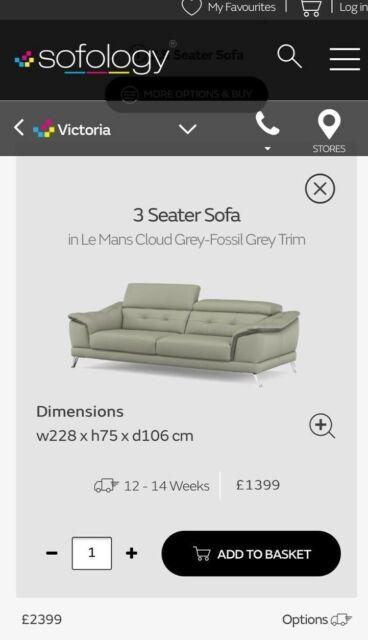 Awe Inspiring 2 Victoria Le Mans Cloud Grey Modern Living Room 3 2 5 Seater Leather Sofa Set Spiritservingveterans Wood Chair Design Ideas Spiritservingveteransorg