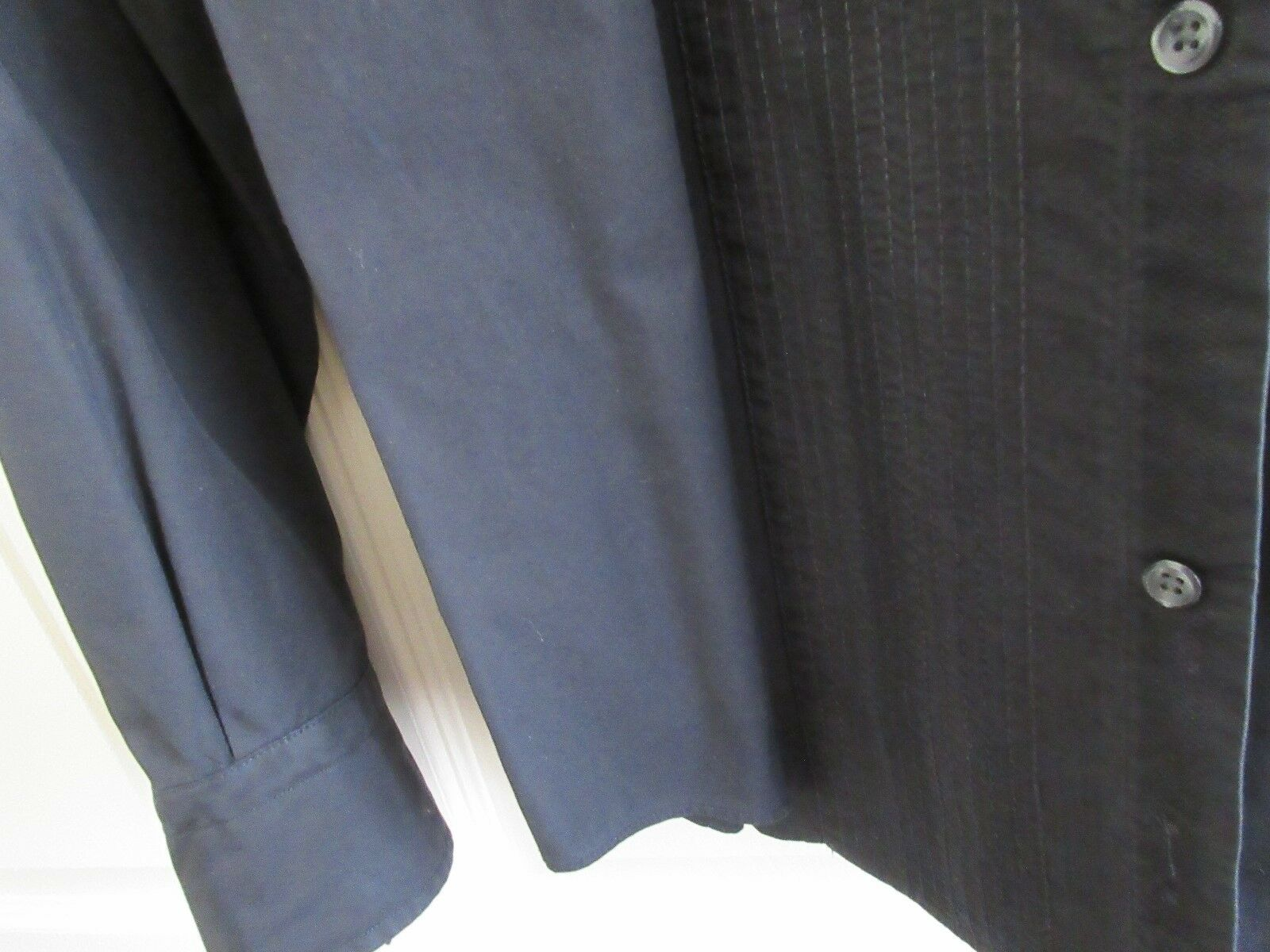 Express , Long Sleeve , Men's XL , 17- 17 1/2 , 100 % C