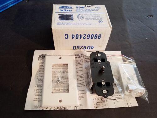 NEW GENUINE Broan Nutone 97011980 S59W Nautilus 60 Minute Timer Switch