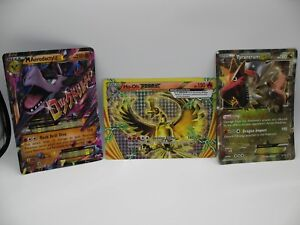 Details About Lot Of Oversize Pokemon Promo Cards Mega Aerodactyl Ex Ho Oh Break Tyrantrum Ex