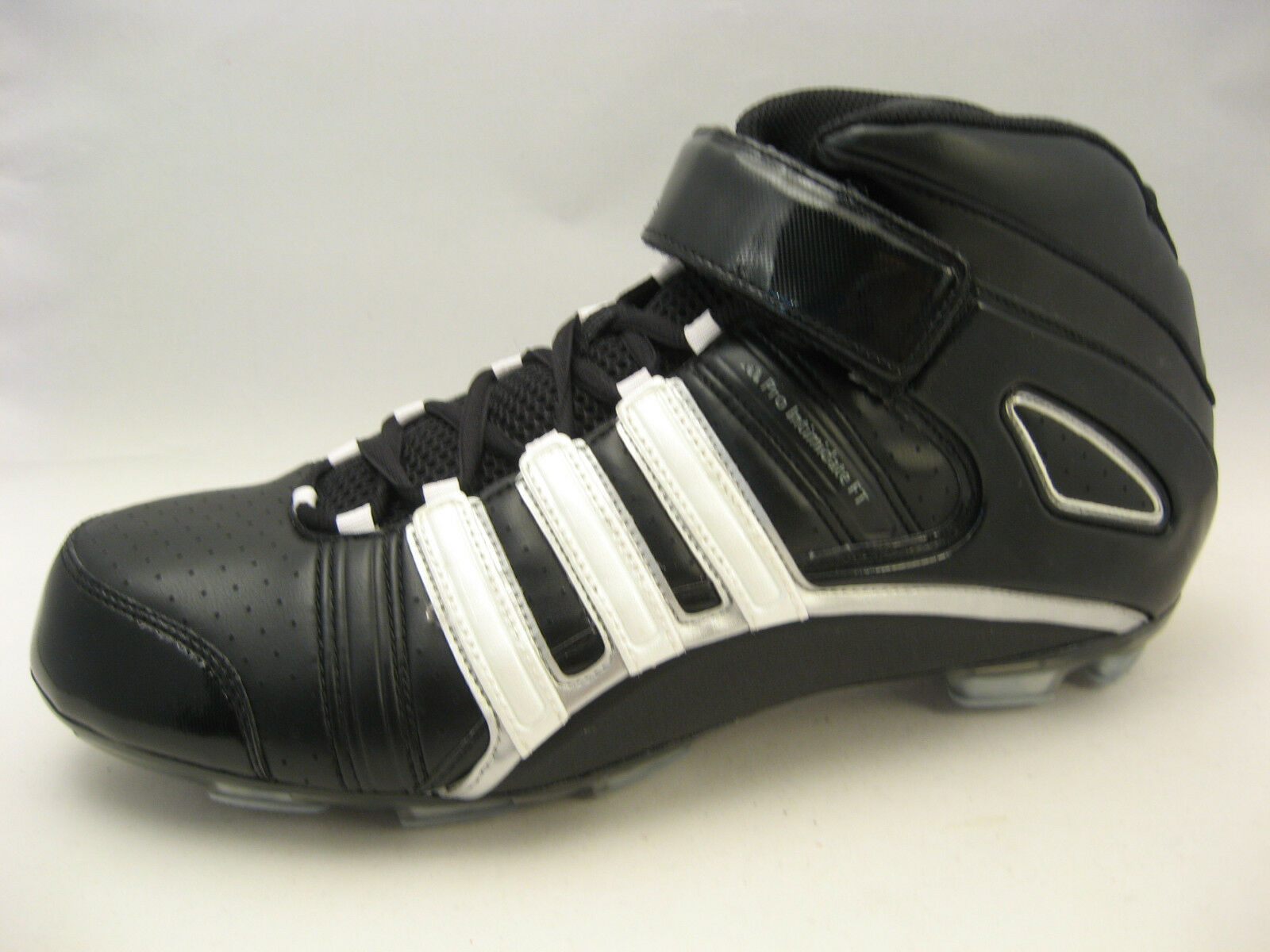 Adidas Pro Intimidate 2 FT Mid Mid Mid Field Turf Football Cleats 16 Medium Black White 1ed512