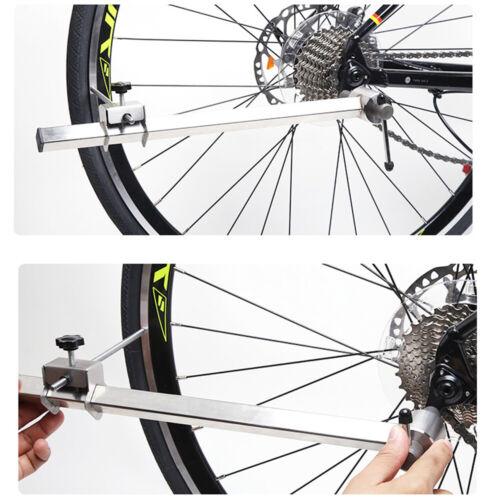 Bike Repair Werkzeug Fahrrad Umwerfer Schaltauge Ausrichtung Edelstahl Gauge