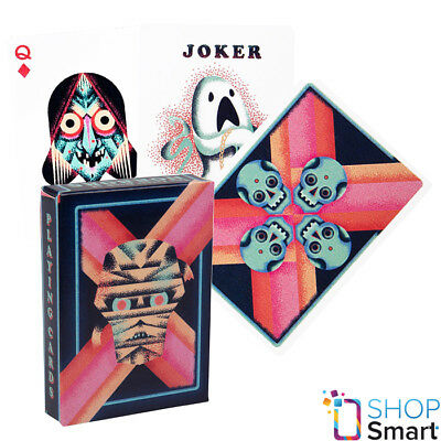 ELLUSIONIST LITTLE DECK OF HORRORS PLAYING CARDS BICYCLE MAGIC TRICKS USPCC NEW
