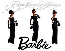 Audrey Hepburn Barbie Breakfast At Tiffanys Canvas Art 16 x 20 #2883