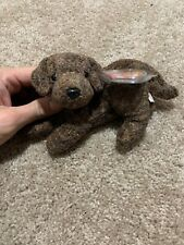 2000 TY Beanie Baby Fletcher The Dog With Tag Retired   DOB May 27th