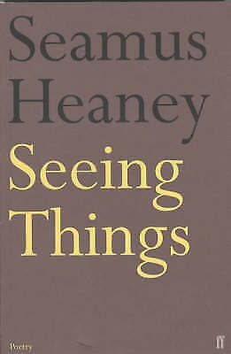 1 of 1 - Seeing Things,Heaney, Seamus,Acceptable Book mon0000099832