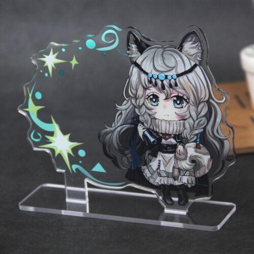 Japanese Anime Arknights SKYFIRE amiya Keychain Key Ring Acrylic Cospaly Gift