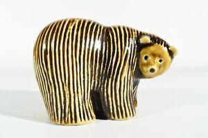Lisa-Larson-Sweden-Gustavsberg-Ceramics-Bear-Signed-Ceramic-Figure