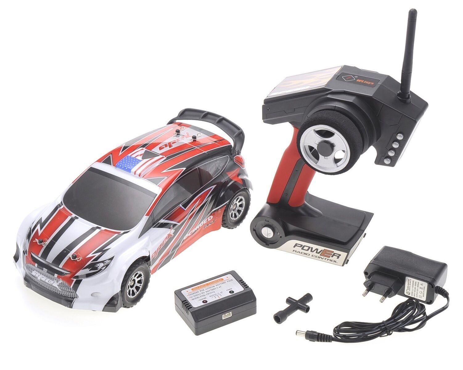 1 18 RC Rally Car Car Car Electric 2.4GHz Radio Remote Control 4WD RTR Red New c16941
