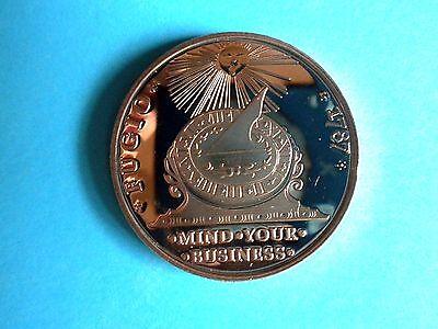 Fugio Design 1787 1 oz  Copper Round
