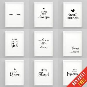 Bedroom-Prints-Black-and-White-Art-Prints-for-Bedroom-Framed-Wall-Art-Quotes