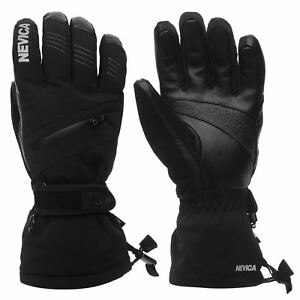 Nevica-guantes-de-esqui-de-snowboard-para-hombre-Vail-Deporte-Mitones-Impermeable-Transpirable