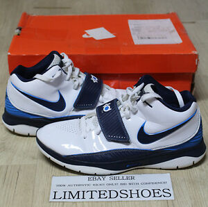 pretty nice 843a0 6baa2 Image is loading NIKE-KD-2-II-WHITE-MIDNIGHT-NAVY-PHOTO-