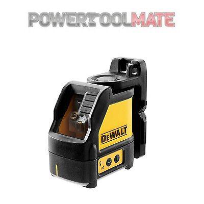 DEWALT DW088CG-XJ Vert Faisceau Cross Line laser avec mallette de transport jaune noir outil