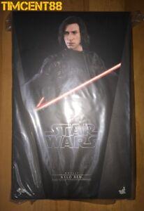 Ready-Hot-Toys-MMS438-Star-Wars-The-Last-Jedi-Kylo-Ren-Adam-Driver-1-6-Figure