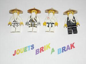 Lego minifig figurine personnage ninjago ninja go sensei - Personnage ninjago lego ...