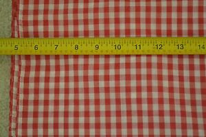 """44/"""" Wide By-the-Half-Yard M5860 1//8/"""" Brown /& White Cotton Gingham"""
