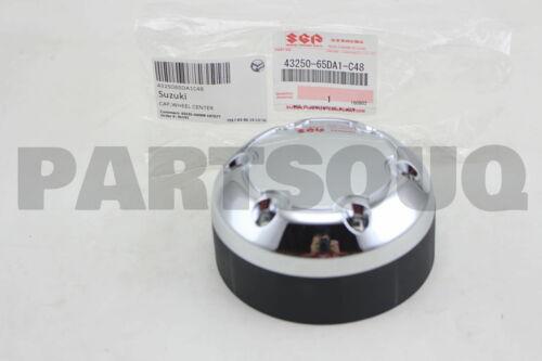 4325065DA1C48 Genuine Suzuki CAP WHEEL CENTER 43250-65DA1-C48
