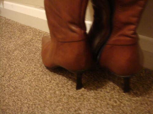 taglia New Smart Brand pelle stivali Ladies 6 marrone di Clarks 58wqt7Cw