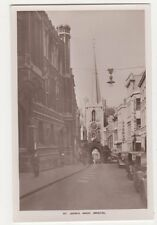 Bristol, St. Johns Arch RP Postcard, B142