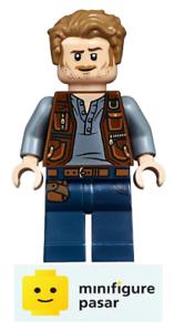 jw023 Lego Jurassic World 75935 75934 75941 75930 - Owen Grady Minifigure - New