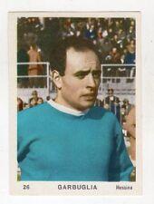 [KHY] FIGURINA OMNIA SPORT ANNO 1964/65 CALCIO NUMERO 26 GARBUGLIA MESSINA