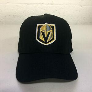 Las-Vegas-Golden-Knights-Cap-Hat-Embroidered-LV-Adjustable-Curved-Men
